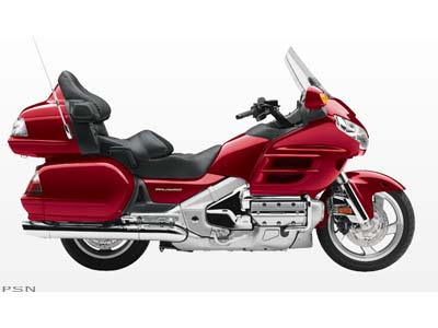 LIKE NEW, CALIENTE RED METALLIC GOLDWING!