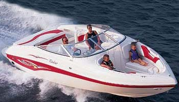 2005 Rinker 232 Captiva Bowrider
