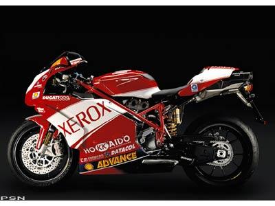 Ducati 999r Fila. 2006 Ducati Superbike 999R