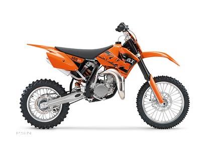 2007 KTM 85 SX 17/14