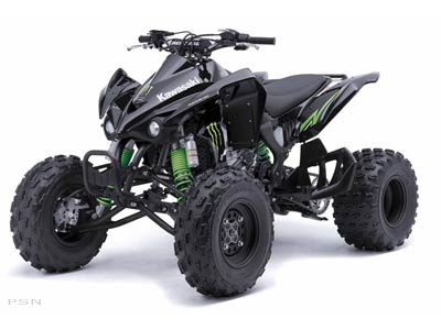 2009 Kawasaki KFX 450R Monster Energy