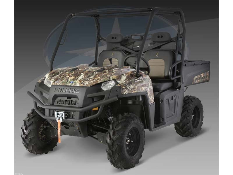 2010 Polaris Ranger 800 XP Browning Pursuit Camo LE