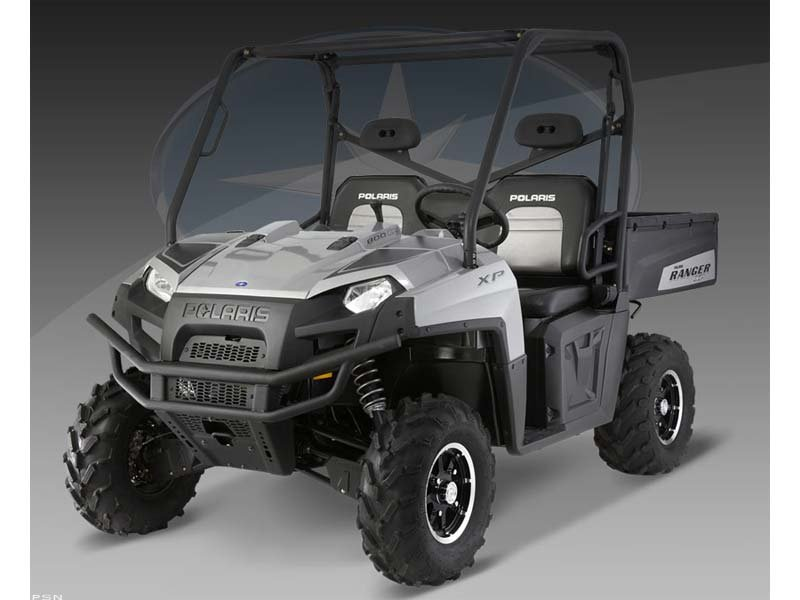2010 Polaris Ranger 800 XP Turbo Silver LE