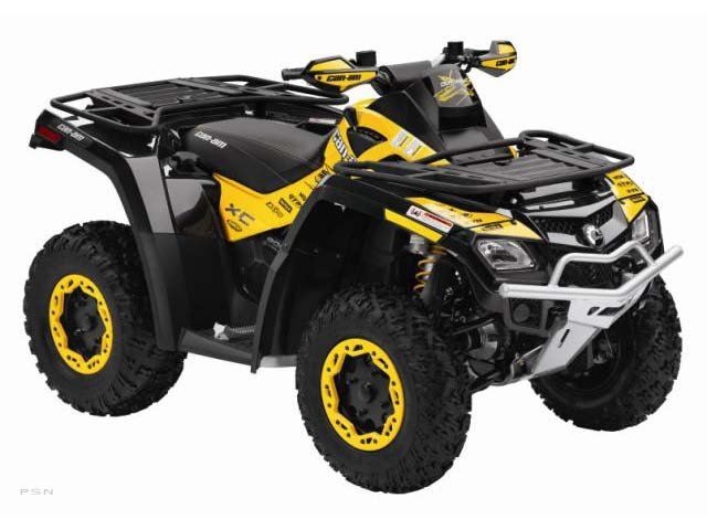2011 Can-Am Outlander� 800R EFI X™ xc