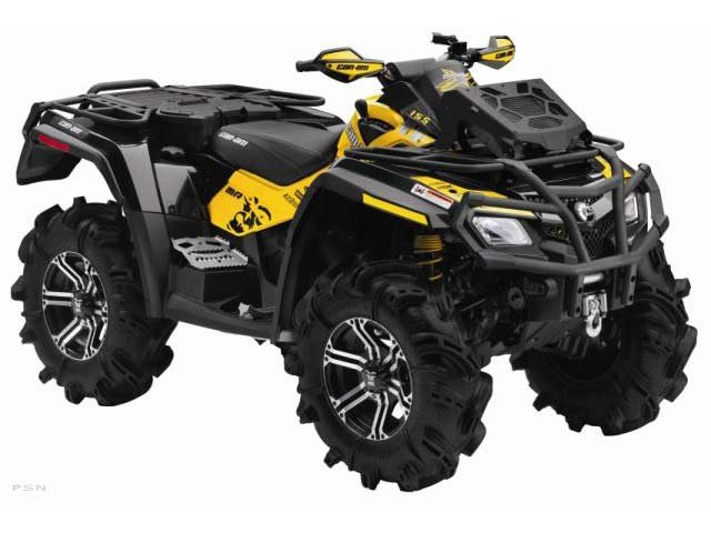 2011 Can-Am Outlander� 800R EFI X™ mr