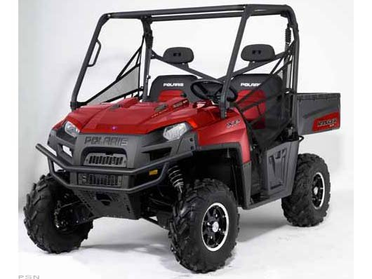 2011 Polaris Ranger XP� 800 EPS Sunset Red LE