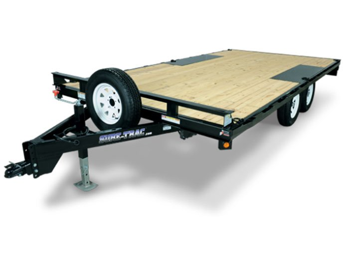 2011 Sure-Trac 8-1/2 x 17 + 38-1/2 Low Profile (7,000 lbs.)