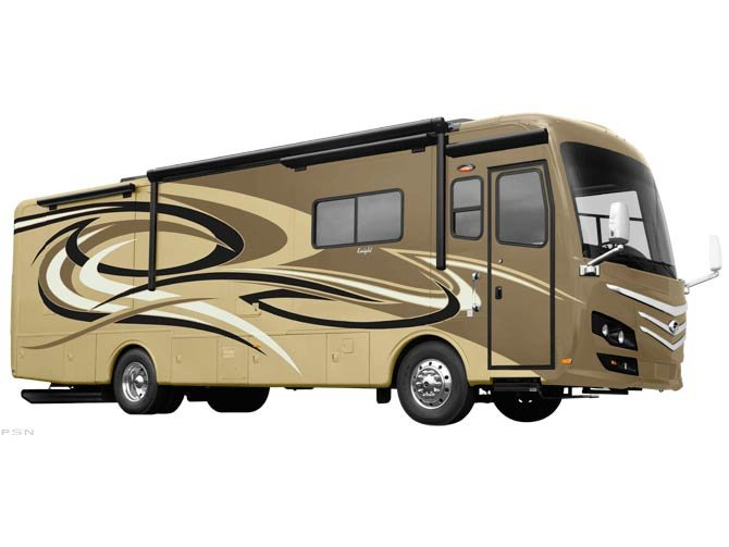 The 2012 Knight defines what�s next for Monaco; a vertically-integrated, state-of-art, luxury motorhome built from the ground up with engine, chassis and body manufactured by one company.