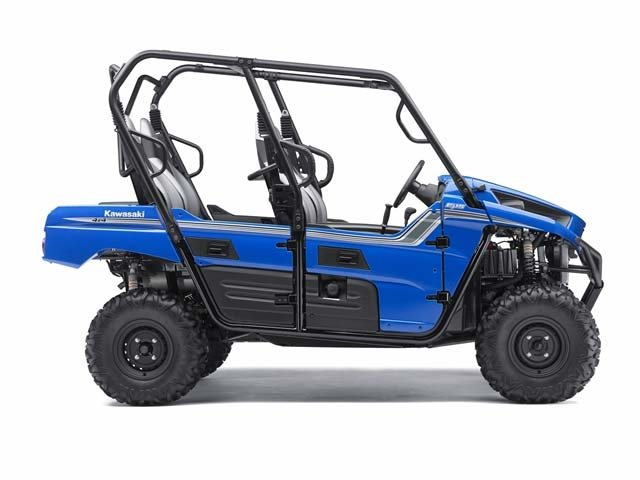 The recreational, sporty, fun 4-seat Kawasaki Teryx4