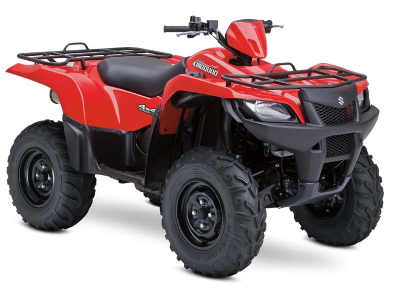 Brand New 2013 Suzuki King Quad 500s on Sale Now!!