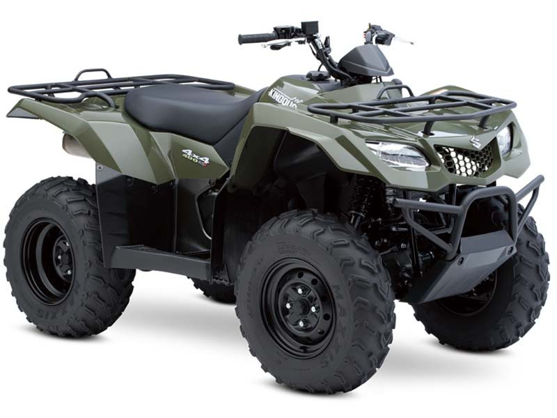 FROM THE MAKER OF THE FIRST 4-WHEELR, SUZUKI KING QUAD 400cc FUEL INJECTED BRAND NEW WITH 0% FINANCING