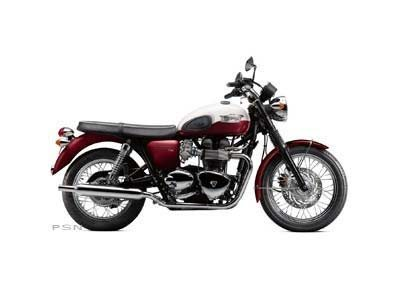 2013 Triumph Bonneville T100 - Cranberry Red / New England White