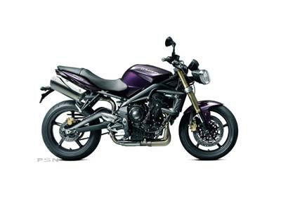 2012 Triumph Street Triple - Imperial Purple
