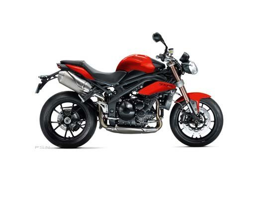 2012 Triumph Speed Triple ABS - Diablo Red