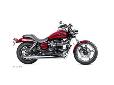 2012 Triumph Speedmaster - Cranberry Red