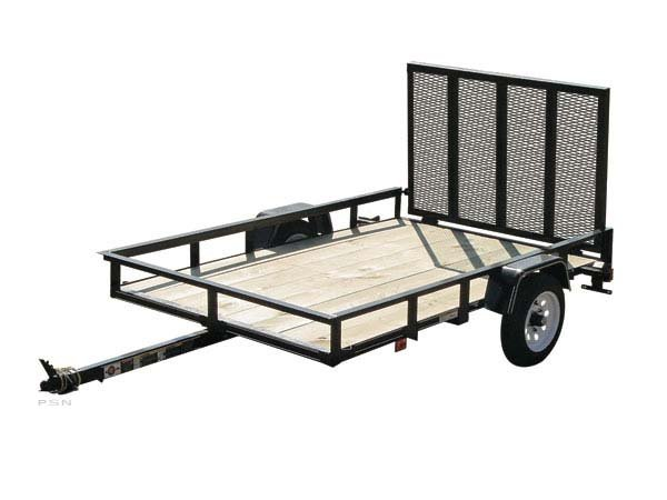2012 Carry-On 4X8GW2K - 2,000 lbs. GVWR Wood Floor