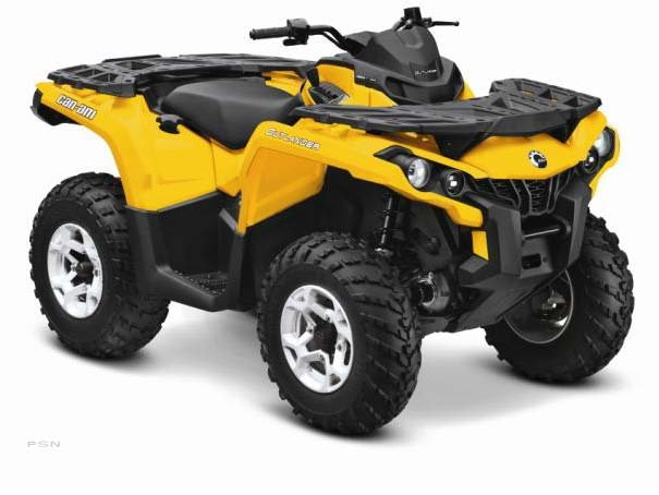 2013 Can-Am Outlander DPS&#153; 500