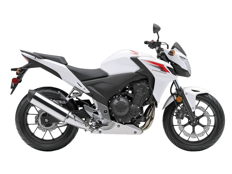 The all-new CB500! Agressive, sporty ride