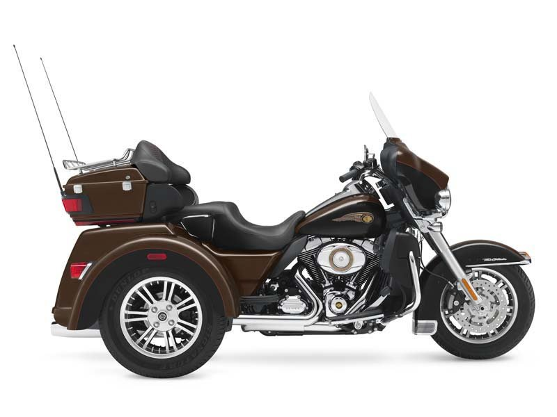 110th Anniversary Tri Glide with LOW mileage.  Original and limited numbers produced.  Factory Warranty Left.