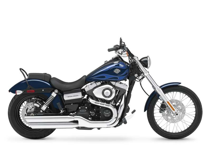 This Wide Glide is here on the floor and waiting for you.