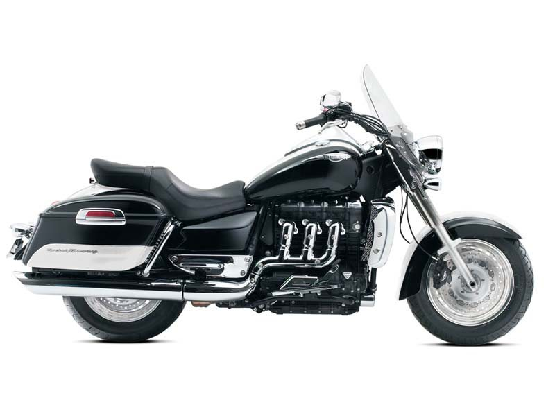 2013 Triumph Rocket III Touring ABS - Jet Black / New England White