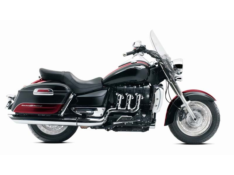 2013 Triumph Rocket III Touring ABS - Phantom Black / Cranberry Red