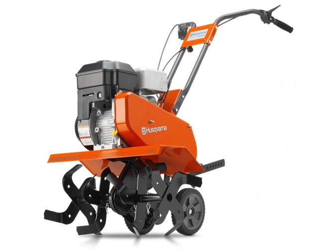 Front-tine Husqvarna tiller.  We also have a rear-tine model!