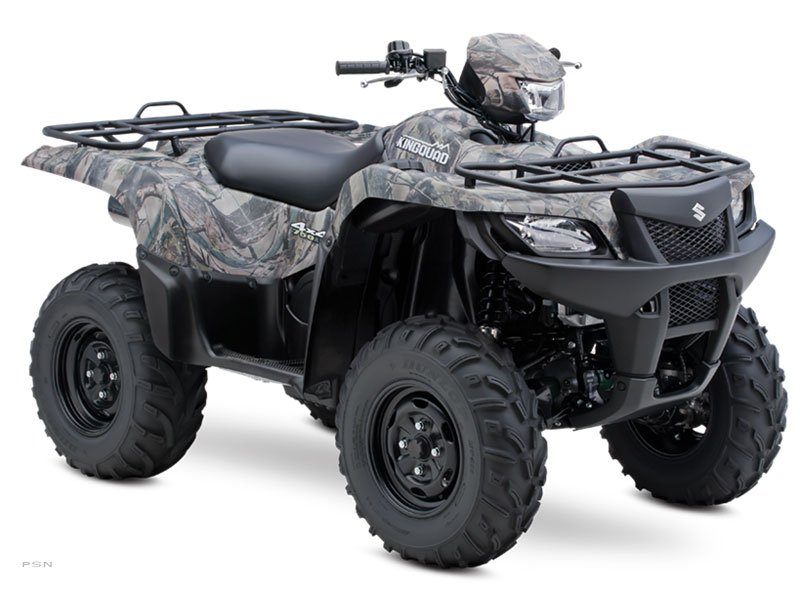 2013 Suzuki KingQuad 750AXi Camo