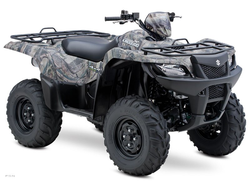 2013 Suzuki KingQuad� 500AXi Power Steering Camo