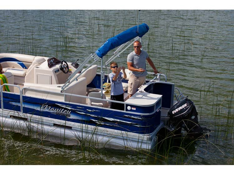 2013 Manitou Pontoons 20 Aurora 23 in. Twin Tube