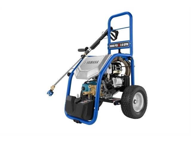 Get your stuff clean with a Yamaha Powerwasher!