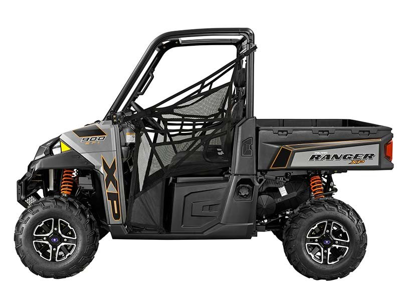 2014 Polaris Ranger XP® 900 EPS Titanium Matte Metallic LE