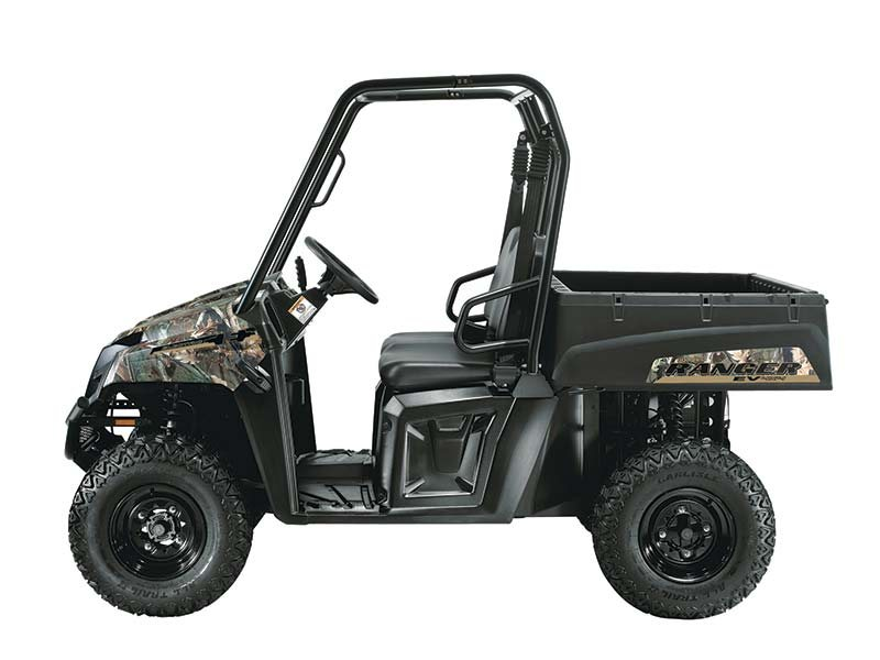 A quieter machine for operating inside barns or for stealthy trips to the deer stand, the RANGER EV never needs gas, requires very little maintenance, and works harder and rides smoother than any other electric vehicle in its class.