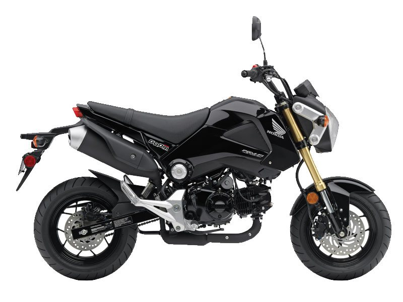 Looks like a Little Ducati Monster - but it's not. It's the GROM!