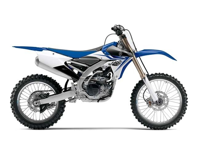 The all new YZ 450
