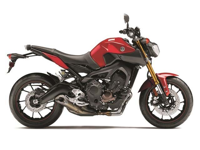 All new lightweight and nimble 850cc triple