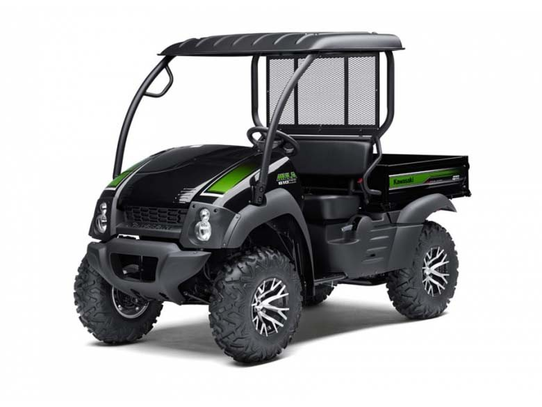 This is the special edition 4x4 Mule.  Includes roof and upgraded wheels and tires.  Still only $8499
