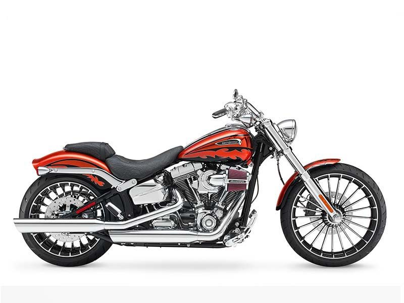 Slammed and chopped style goes premium in the CVO� Breakout�. From stunning details and finishes to brawny power, the only thing