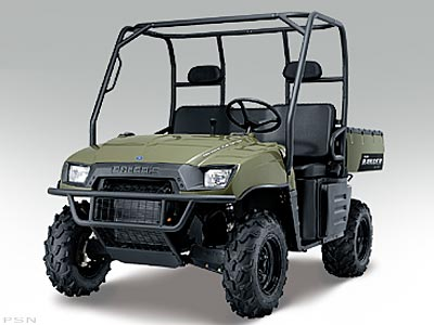 2005 Polaris Ranger XP 4 x 4 Limited Edition Delta Green