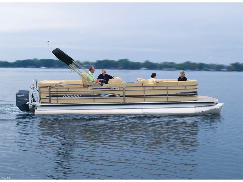 Pictures don't do this pontoon justice. Sanpans are the Cadillac of the water.  This is the stretch limo Cadillac.  Enjoy the water in luxury.