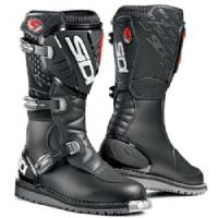 The Discovery Rain is the markets only water resistant off road boot.Membrane equipped to add a water resistant yet breathable barrier between the elements and the riders feet. Soft rubber sole for maximum grip.Sidi boots do not incorporate inner bo