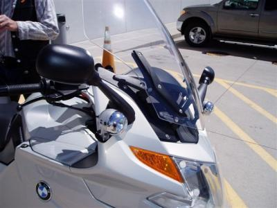 BMW of denver is the Exclusive distributor for Jimmy Mounts light mounts. We keep these K1200/1300 sets in stock.  If you have heard about