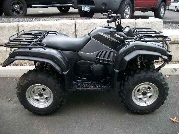 used 2005 yamaha grizzly 660 auto 4x4 for sale danbury 6811 usa used cars for sale. Black Bedroom Furniture Sets. Home Design Ideas