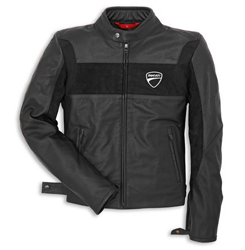 Made exclusively for Ducati by Rev'It, this jackets two tone design features soft suede chest panels and an embroidered logo. SaS-Tec CE certified shoulder and elbow armor is included and it is pocketed for a G2 back protector. The new 2014 Company Leather