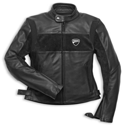 Made exclusively for Ducati by Rev'It, this jackets two tone design features soft suede chest panels and an embroidered logo. SaS-Tec CE certified shoulder and elbow armor is included and it is pocketed for a G1 back protector. The new 2014 Company Leather