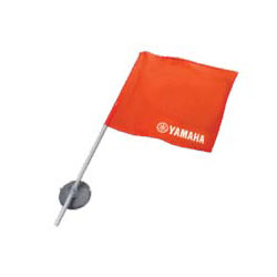 Eliminate observer's elbow! This high-visibility orange 420D nylon flag is mounted to a 24-inch pole. Easily attaches to boat windshields and/or WaveRunners with a giant 3-1/4-inch suction cup. Required in AZ, CA, CO, ID, MD, NE, NM, OR, TX, UT and WA. Nee
