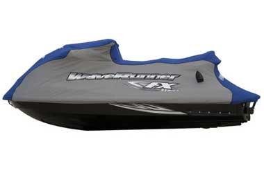 Because your WaveRunner personal watercraft is such an important investment, you want to keep it looking its best. Yamahas WaveRunner covers are designed to help protect your watercrafts appearance. Each cover features superior construction and materials
