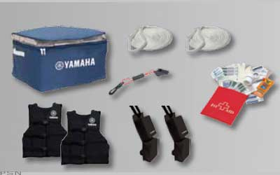 Here's a convenient way to get started with supplies you need for your new WaveRunner.  Kit provides two U.S. Coast Guard Approved/UL Listed PFDs that are adjustable to fit most adults (sizes small to large), with a generously sized nylon case to store the