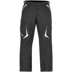 Lightweight durable pants with RPM waterproof breathable technologyStretch waterproof panel at crotch and upper back for ease of movementTriple stitched construction at crotch for reinforcementCritical seams sealedSide leg zipper to facilitate exit2 zipper