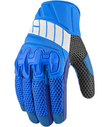 The Overlord Mesh Glove features a combination of materials enlisted for their unique fit and functionproperties. The chassis is a combination of 3D airmesh, molded neoprene, and sublimated micromesh- providing excellent flow and flex ability. The knuc